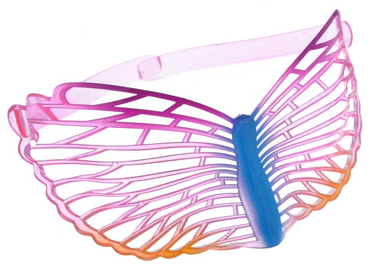 Очки карнавальные Lunten Ranta Летние, цвет: желтый, розовый59819_8Карнавальные очки Lunten Ranta Летние помогут создать яркий маскарадный образ и подарят веселое праздничное настроение. Очки выполнены из пластика и декорированы ажурным узором. Если у вас намечается веселая вечеринка или маскарад, то такие очки легко помогут создать праздничную атмосферу. Внесите нотку задора и веселья в ваш праздник. Веселое настроение и масса положительных эмоций будут обеспечены!