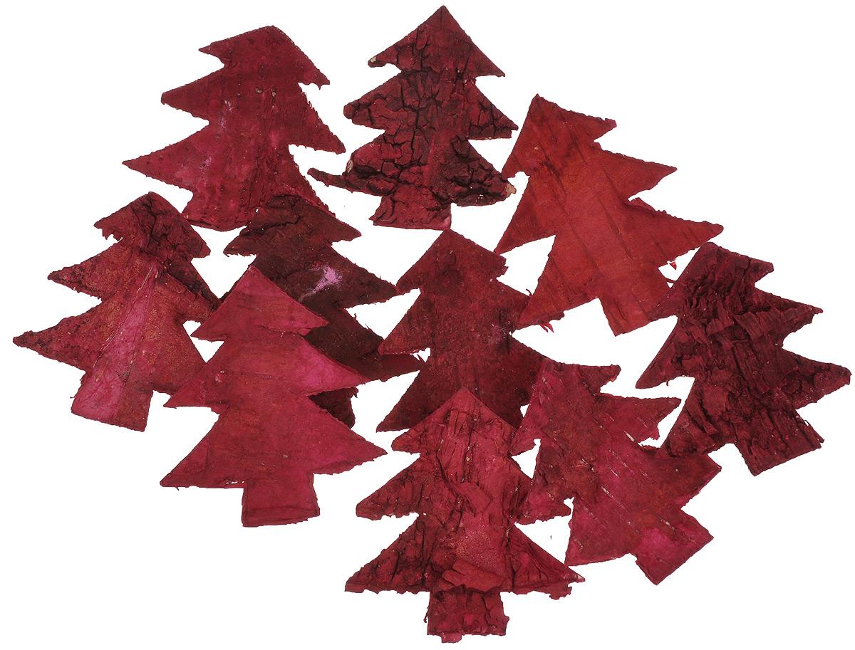 Декоративные элементы Dongjiang Art, цвет: красный, длина 7 см, 10 шт7709018_красныйДекоративные элементы Dongjiang Art представляют собой срезы дерева и предназначены для украшения цветочных композиций. Такие элементы могут пригодиться во флористике и многом другом. Флористика - вид декоративно-прикладного искусства, который использует живые, засушенные или консервированные природные материалы для создания флористических работ. Это целый мир, в котором есть место и строгому математическому расчету, и вдохновению. Размер элемента: 7 см х 6 см х 0,2 см.
