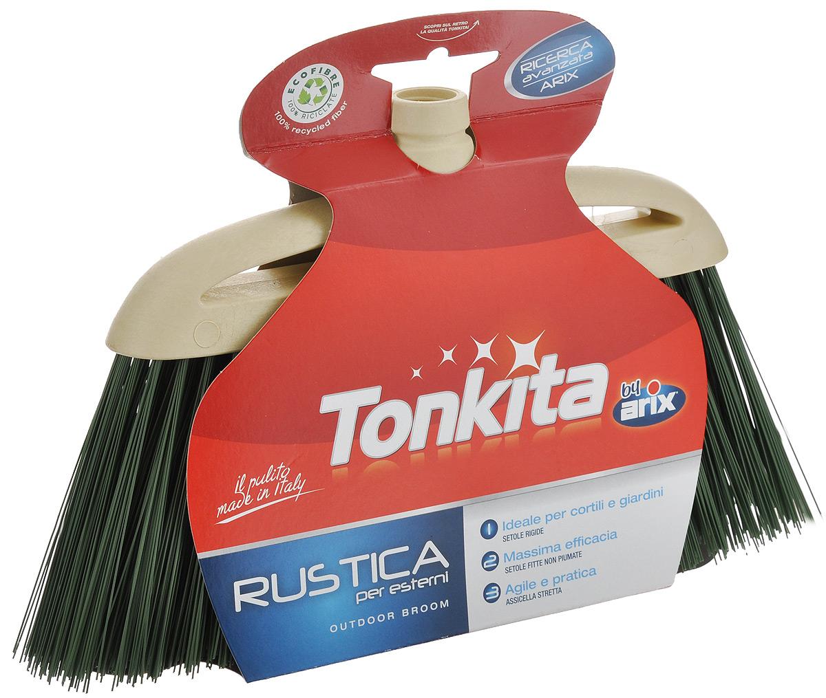 Щетка-насадка Tonkita Рустика для уборки мусора, цвет: бежевый, зеленыйTK630Щетка-насадка Tonkita Рустика, изготовленная из прочного полипропилена, предназначена для уборки в доме и на улице. Упругие и длинные волоски щетки- насадки не оставят от грязи и следа. Оригинальная, современная щетка для швабры, которую можно подобрать к любому интерьеру, сделает уборку эффективнее и приятнее. Универсальная резьба подходит ко всем видам ручек. Размер щетки-насадки: 33 см х 9 см. Длина ворса: 12 см.