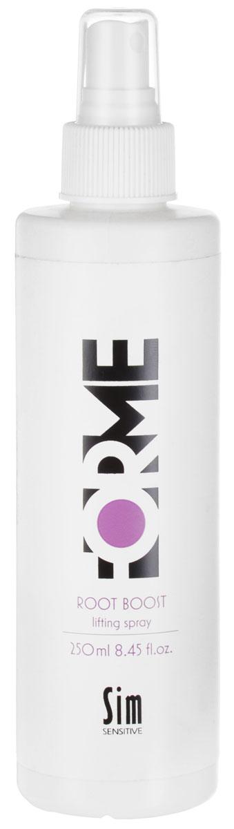 Sim Sensitive Cпрей для волос Forme, для создания прикорневого объема, 250 мл5358Спрей от Sim Sensitive Forme разработан специально для тонких и средних волос. Создает невесомый объем волос и держится в течении всего дня. В состав спрея входит экстракт клюквы и УФ-фильтр, которые защищают волосы от вредных воздействий окружающей среды. Благодаря большой концентрации витаминов и микроэлементов, спрей питает, ухаживает и защищает волосы. - Фиксация; 4. - Объем; 5. - Блеск; 3. Проверено дерматологами. Товар сертифицирован.