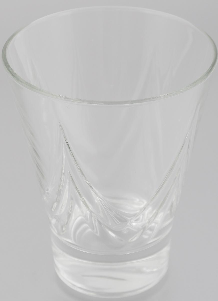 Стакан OSZ Bell Призма, цвет: прозрачный, 300 мл12С1623Стакан OSZ Bell Призма изготовлен из бесцветного стекла и украшен рельефными гранями. Идеально подходит для сервировки стола. Стакан не только украсит ваш кухонный стол и подчеркнет прекрасный вкус хозяйки. Диаметр стакана (по верхнему краю): 9,5 см. Диаметр основания: 5,5 см. Высота стакана: 11,5 см.