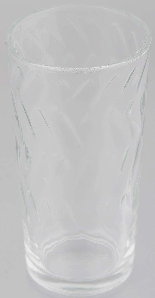 Стакан OSZ Этюд, цвет: прозрачный, 200 мл05С1259Стакан OSZ Этюд изготовлен из бесцветного стекла. Идеально подходит для сервировки стола. Стакан не только украсит ваш кухонный стол и подчеркнет прекрасный вкус хозяйки. Диаметр стакана (по верхнему краю): 6,5 см. Диаметр основания: 5 см. Высота стакана: 12,5 см.