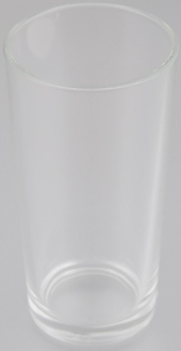 Стакан OSZ Ода высокий, цвет: прозрачный, 230 мл05С1256Стакан OSZ Ода изготовлен из бесцветного стекла. Идеально подходит для сервировки стола. Стакан не только украсит ваш кухонный стол и подчеркнет прекрасный вкус хозяйки. Диаметр стакана (по верхнему краю): 6,5 см. Диаметр основания: 5 см. Высота стакана: 12 см.