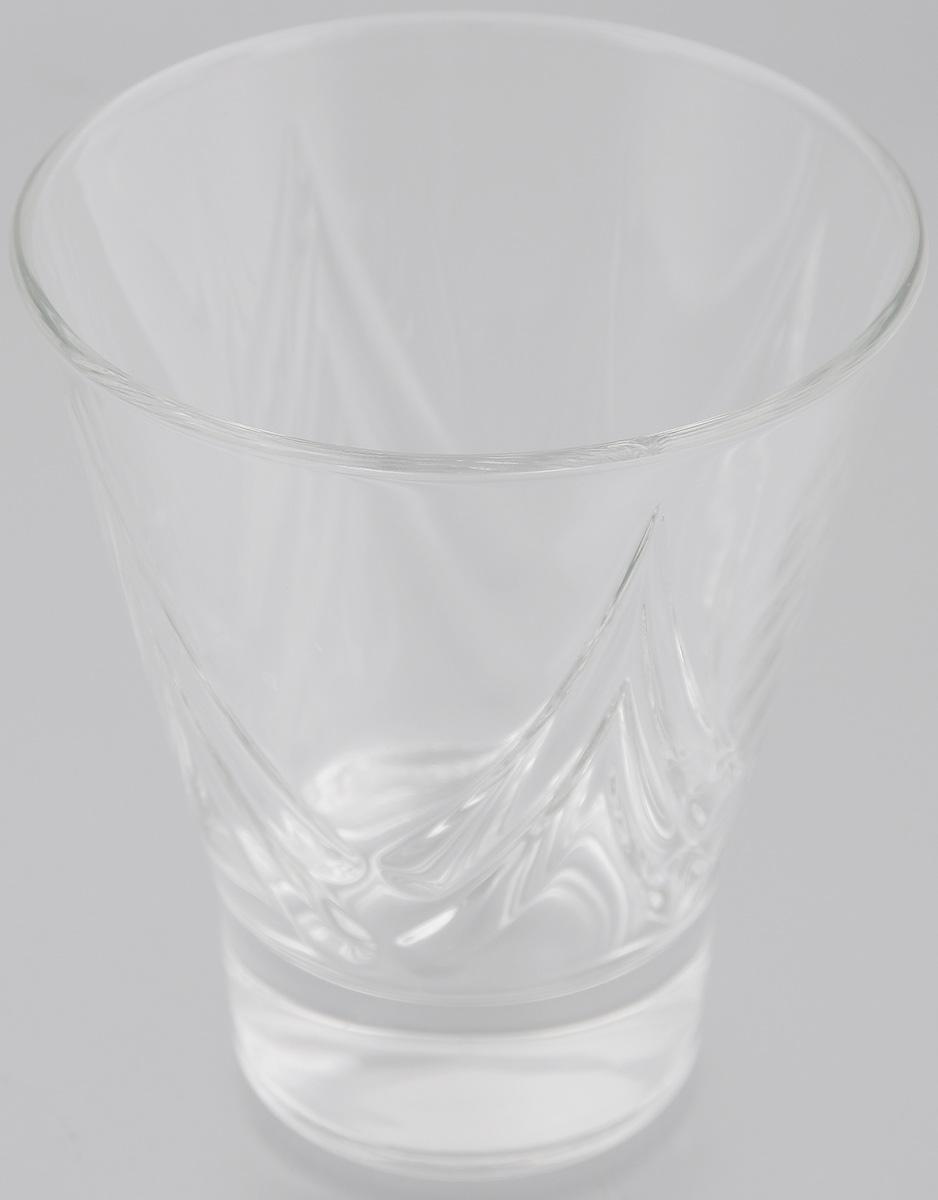 Стакан OSZ Bell Призма, цвет: прозрачный, 250 мл12C1625Стакан OSZ Bell Призма изготовлен из бесцветного стекла и украшен рельефными гранями. Идеально подходит для сервировки стола. Стакан не только украсит ваш кухонный стол и подчеркнет прекрасный вкус хозяйки. Диаметр стакана (по верхнему краю): 9 см. Диаметр основания: 5 см. Высота стакана: 10,5 см.