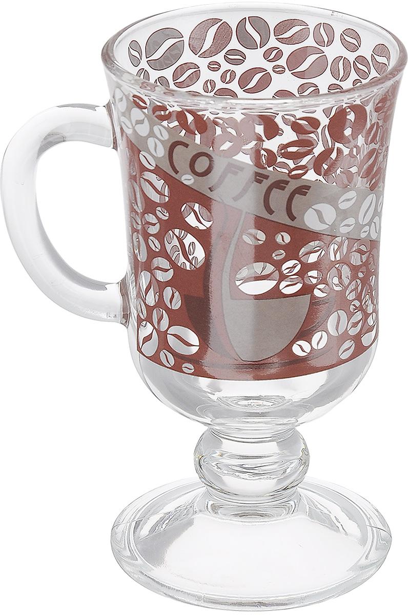 Кружка OSZ Глинтвейн Кофейные зерна, цвет: прозрачный, 200 мл08с1405 ДЗ Кофе3Кружка OSZ Глинтвейн Кофейные зерна изготовлена из бесцветного стекла и украшена рельефными гранями. Идеально подходит для сервировки стола. Кружка не только украсит ваш кухонный стол, но подчеркнет прекрасный вкус хозяйки. Диаметр кружки (по верхнему краю): 7,5 см. Диаметр основания: 7 см. Ширина кружки с учетом ручки: 10 см. Высота ножки: 2,5 см. Высота кружки: 14 см. Объем кружки: 200 мл.