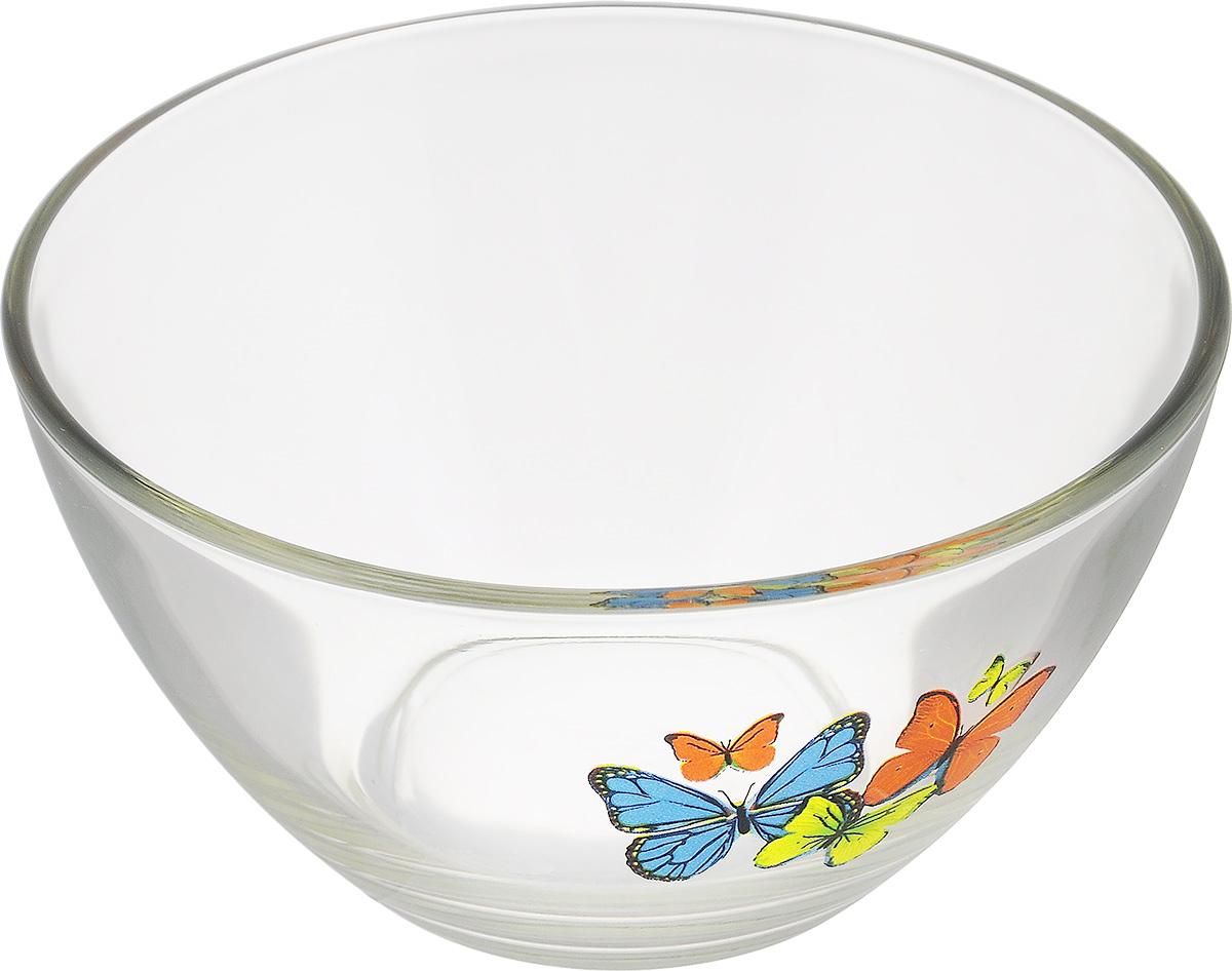 Салатник OSZ Танец бабочек, диаметр 13 см-синий/оранжевый/жёлтый10с1542 ДЗ ТБ миксСалатник OSZ Танец бабочек изготовлен из бесцветного стекла и украшен ярким рисунком. Идеально подходит для сервировки стола. Салатник не только украсит ваш кухонный стол и подчеркнет прекрасный вкус хозяйки, но и станет отличным подарком. Диаметр салатника (по верхнему краю): 13 см. Диаметр основания: 6 см. Высота салатника: 7 см.