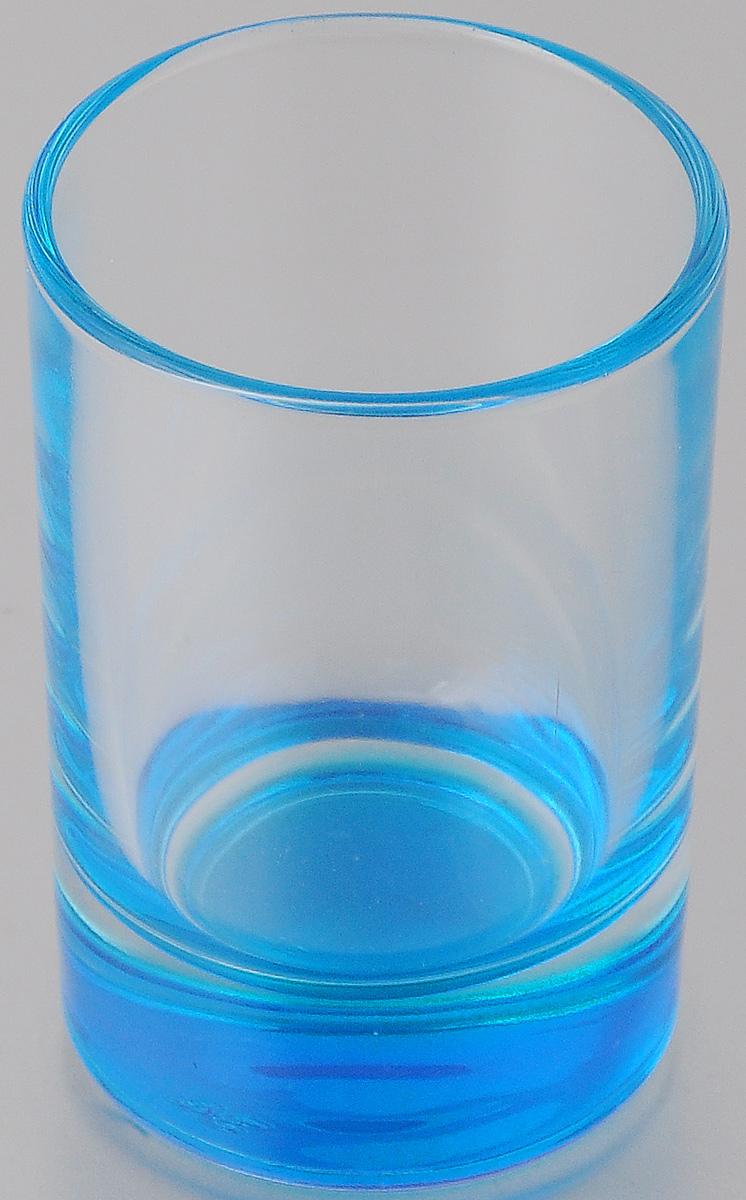Стопка OSZ Лак микс, цвет: прозрачный, синий, 50 мл02С1022 ЛМСтопка OSZ Лак микс изготовлена из бесцветного стекла с синим донышком. Идеально подходит для сервировки стола. Стопка не только украсит ваш кухонный стол и подчеркнет прекрасный вкус хозяйки. Диаметр стопки (по верхнему краю): 4,5 см. Диаметр основания: 4 см. Высота стопки: 7 см.