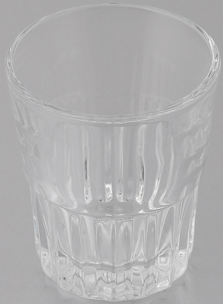 Стопка OSZ, цвет: прозрачный, 50 мл03С763Стопка OSZ изготовлена из бесцветного стекла. Идеально подходит для сервировки стола. Стопка не только украсит ваш кухонный стол и подчеркнет прекрасный вкус хозяйки. Диаметр стопки (по верхнему краю): 5 см. Диаметр основания: 3,5 см. Высота стопки: 6 см.