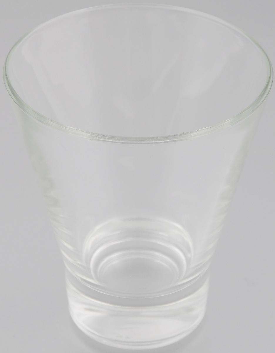 Стакан OSZ Bell, цвет: прозрачный, 250 мл09С1454Стакан OSZ Bell изготовлен из бесцветного стекла. Идеально подходит для сервировки стола. Стакан не только украсит ваш кухонный стол и подчеркнет прекрасный вкус хозяйки. Диаметр стакана (по верхнему краю): 9 см. Диаметр основания: 5 см. Высота стакана: 10,5 см.