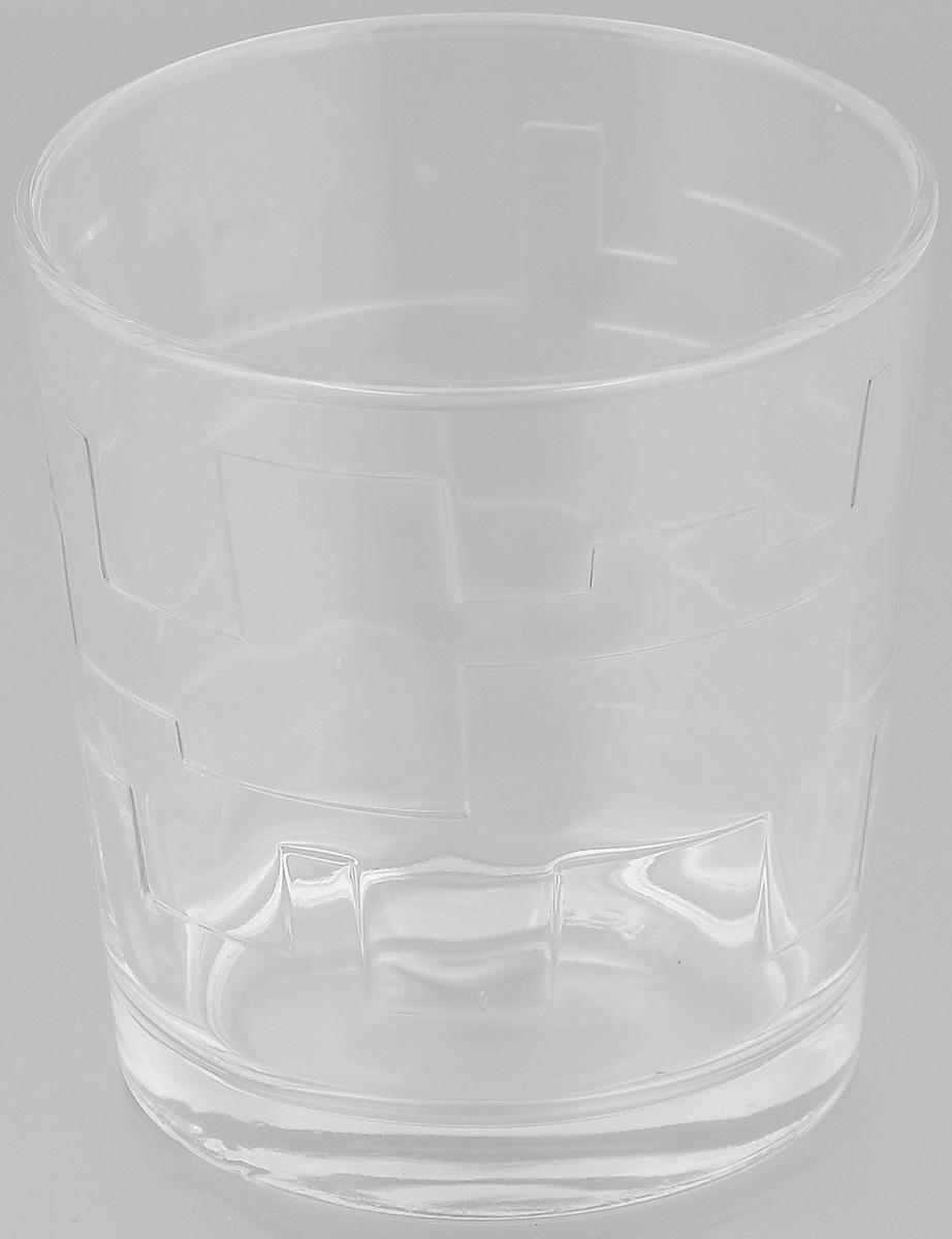 Стакан OSZ Лабиринт, цвет: прозрачный, 250 мл05С1262Стакан OSZ Лабиринт изготовлен из бесцветного стекла и украшен рельефными гранями. Идеально подходит для сервировки стола. Стакан не только украсит ваш кухонный стол и подчеркнет прекрасный вкус хозяйки. Диаметр стакана (по верхнему краю): 8 см. Диаметр основания: 6,5 см. Высота стакана: 8,5 см.