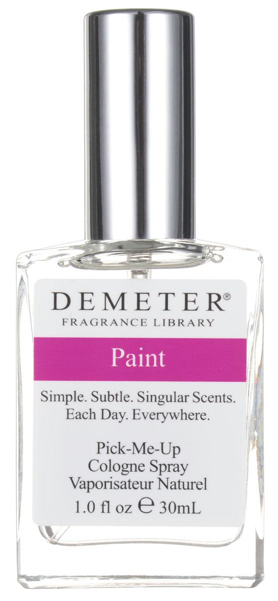 Demeter Fragrance Library Духи-спрей Paint, 30 млDM09737Духи-спрей Paint от Demeter Fragrance обладают легким свежим ароматом. Главное, не надо бояться - вы не испачкаетесь. Зато ваше воображение уже никогда не будет прежним, как будто вы действительно только что встали со свежепокрашенной лавочки. В общем, фантазия у парфюмеров Demeter работает отлично. Сразу тянет на косметический ремонт в квартире. Способ применения: Нанести на сухую, чистую кожу. На точки пульса, волосы, одежду. Товар сертифицирован.