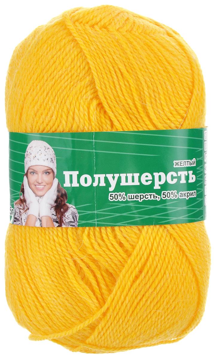 Пряжа для вязания Астра Mix Wool, цвет: желтый, 250 м, 100 г, 3 шт488344_желтыйПряжа для вязания Астра Mix Wool изготовлена из мягкой и высококачественной натуральной шерсти и акрила. Из такой пряжи получается тонкий и теплый трикотаж. Волокно имеет высокую упругость, поэтому хорошо держит форму, обладает превосходными гигиеническими свойствами: имеет высокую гигроскопичность и отводит влагу от тела. Рекомендуемые для вязания спицы: 3-5 мм. Рекомендуемый для вязания крючок: 3-5 мм. Состав: 50% шерсть, 50% акрил.