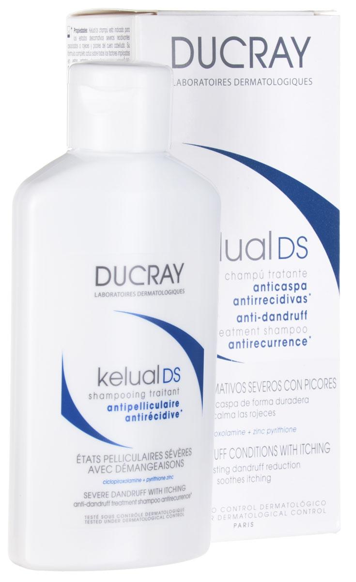 Ducray DS Шампунь Kelual для лечения тяжёлых форм перхоти 100млC05123Надолго устраняет умеренную и сильно выраженную перхоть. Устраняет зуд и покраснения. Длительно устраняет перхоть, очищает кожу головы