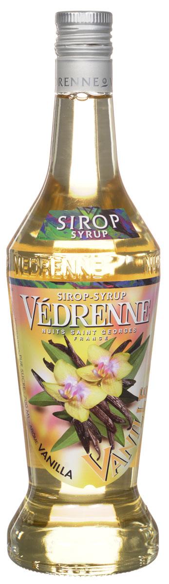 Vedrenne Ваниль сироп, 0,7 лSVDRVA-070B01Сироп Ваниль производят из натуральных продуктов, используя при этом чистый экстракт ванили, именно поэтому он имеет насыщенные нотки. Нежный аромат и вкус ванили идеально подходят для использования в кондитерском деле. Сироп Ваниль добавляют в коктейли, лимонад, холодный чай, кофе и компоты. Он великолепен в качестве пропиток для пирожных и тортов, его, кстати, добавляют и в соусы. Самый популярный напиток, в который добавляют сироп Ваниль, - это, конечно же, кофе. В меню многочисленных кофеен можно найти латте макиато, шоко фраппелатте, марочино, ледяной кофе, poco-a-poco, которые предусматривают обязательное добавление ванильного сиропа. Сиропы изготавливаются на основе натурального растительного сырья, фруктовых и ягодных соков прямого отжима, цитрусовых настоев, а также с использованием очищенной воды без вредных примесей, что позволяет выдержать все ценные и полезные свойства натуральных фруктово-ягодных плодов и трав. В...