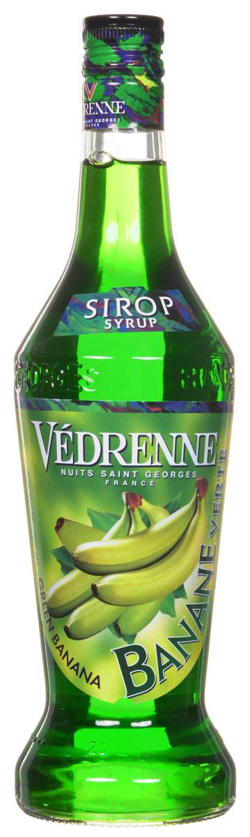 Vedrenne Зеленый Банан сироп, 0,7 л