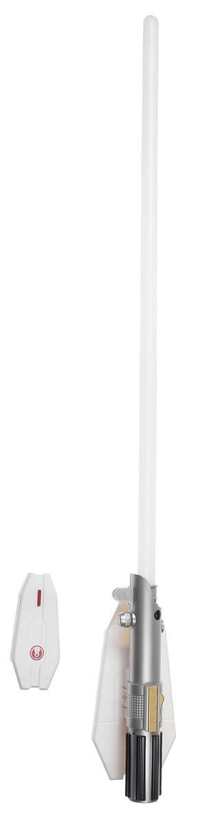Star Wars Светильник Световой меч 8 цветов15078Светильник Star Wars Световой меч станет великолепным украшением комнаты любого поклонника знаменитой космической саги. Меч дополнен звуковыми эффектами и светится одним из восьми цветов, не раздражает глаза и прекрасно подходит на роль ночника. Благодаря входящему в комплект пульту дистанционного управления вы сможете переключать цвета и включать и выключать светильник, не вставая с кровати. В комплект входят элементы для сборки меча-светильника и схематичная инструкция по сборке на русском языке. Ребенок сможет не только собрать оригинальный ночник своими руками, но и познакомиться с основами моделирования и электроники. Для сборки необходима крестовая отвертка. Для работы меча необходимо докупить 3 батарейки напряжением 1,5V типа ААА (не входят в комплект). Для работы пульта необходимо докупить 2 батарейки напряжением 1,5V типа ААА (не входят в комплект).