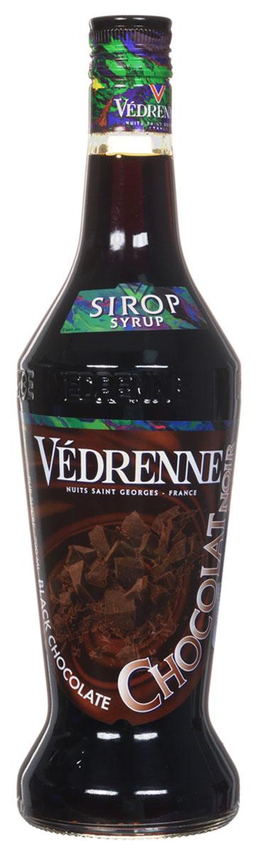 Vedrenne Шоколад сироп, 0,7 лSVDRCN-070B01Современный шоколадный сироп изготавливается на основе какао-бобов, сахара и очищенной воды. Он хорошо смешивается с другими ингредиентами, поэтому часто используется при приготовлении кофе и напитков на его основе, молочных шейков, прохладительных напитков и алкогольных коктейлей, выпечки, десертов, пудингов и самых разнообразных кондитерских изделий. Сиропы изготавливаются на основе натурального растительного сырья, фруктовых и ягодных соков прямого отжима, цитрусовых настоев, а также с использованием очищенной воды без вредных примесей, что позволяет выдержать все ценные и полезные свойства натуральных фруктово-ягодных плодов и трав. В состав сиропов входит только натуральный сахар, произведенный по традиционной технологии из сахарозы. Благодаря высокому содержанию концентрированного фруктового сока, сиропы Vedrenne обладают изысканным ароматом и натуральным вкусом, являются эффективным подсластителем при незначительной калорийности. Они оптимизируют уровень...