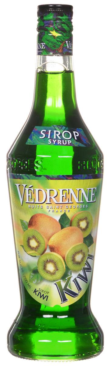 Vedrenne Киви сироп, 0,7 лSVDRKI-070B01Сироп Киви можно добавлять в кофе, лимонад, компот, холодный чай, молоко, соки, различные коктейли (безалкогольные или алкогольные), мороженое. Кроме того, он прекрасно сочетается с содовой, различными десертами, сорбетами, тониками, минеральной водой, фруктовыми салатами. Большой популярностью сиропы Киви пользуются у профессиональных барменов и бариста, которые любят напиток за его специфический привкус с заметной кислинкой. Сиропы изготавливаются на основе натурального растительного сырья, фруктовых и ягодных соков прямого отжима, цитрусовых настоев, а также с использованием очищенной воды без вредных примесей, что позволяет выдержать все ценные и полезные свойства натуральных фруктово-ягодных плодов и трав. В состав сиропов входит только натуральный сахар, произведенный по традиционной технологии из сахарозы. Благодаря высокому содержанию концентрированного фруктового сока, сиропы Vedrenne обладают изысканным ароматом и натуральным вкусом, являются эффективным...