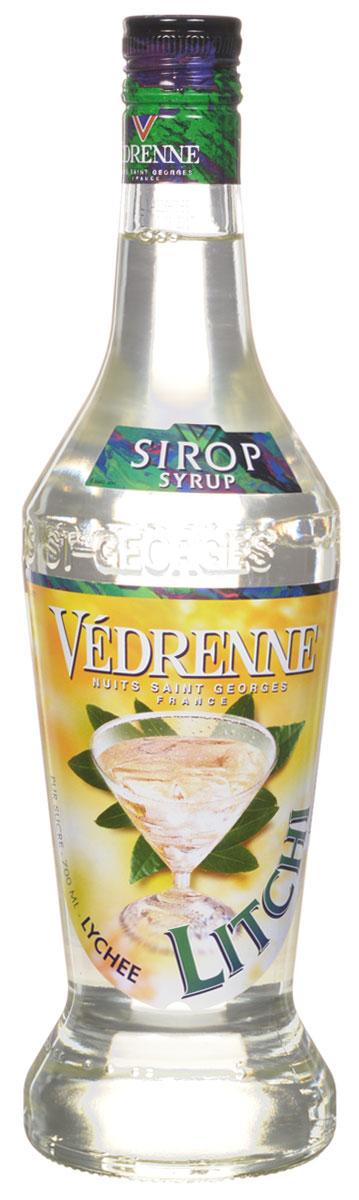 Vedrenne Личи сироп, 0,7 лSVDRLI-070B01Сироп Личи — это один из самых необычных видов ароматных добавок. Родиной личи является Китай, поэтому данный плод часто называют китайской сливой. Сироп Личи применяется в качестве добавки для кофе и других горячих напитков, а также для газировки, лимонада, йогуртов, компотов и т. д. Сиропы изготавливаются на основе натурального растительного сырья, фруктовых и ягодных соков прямого отжима, цитрусовых настоев, а также с использованием очищенной воды без вредных примесей, что позволяет выдержать все ценные и полезные свойства натуральных фруктово-ягодных плодов и трав. В состав сиропов входит только натуральный сахар, произведенный по традиционной технологии из сахарозы. Благодаря высокому содержанию концентрированного фруктового сока, сиропы Vedrenne обладают изысканным ароматом и натуральным вкусом, являются эффективным подсластителем при незначительной калорийности. Они оптимизируют уровень влажности и процесс кристаллизации десертов, хорошо смешиваются с другими...