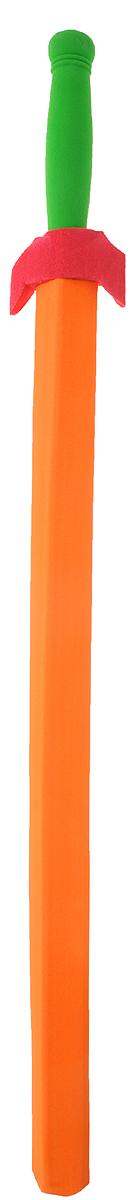 Safsof Китайский меч цвет оранжевыйSD-32(C)_оранжевыйКитайский меч Safsof прекрасно подойдет для активных игр или может стать дополнением к маскарадному костюму. Меч изготовлен из вспененной резины, мягкий материал не даст детям поранить друг друга. Каждый мальчик хотя бы раз мечтал стать благородным рыцарем и борцом за справедливость. С китайским мечем это возможно. Фантазия ребенка перенесет его в мир средневековья. Можно организовать посвящение в рыцари, устроить настоящий рыцарский турнир или сразиться за сердце прекрасной дамы, а может уничтожить невиданное чудовище и спасти целый город! Порадуйте своего ребенка таким необычным подарком!