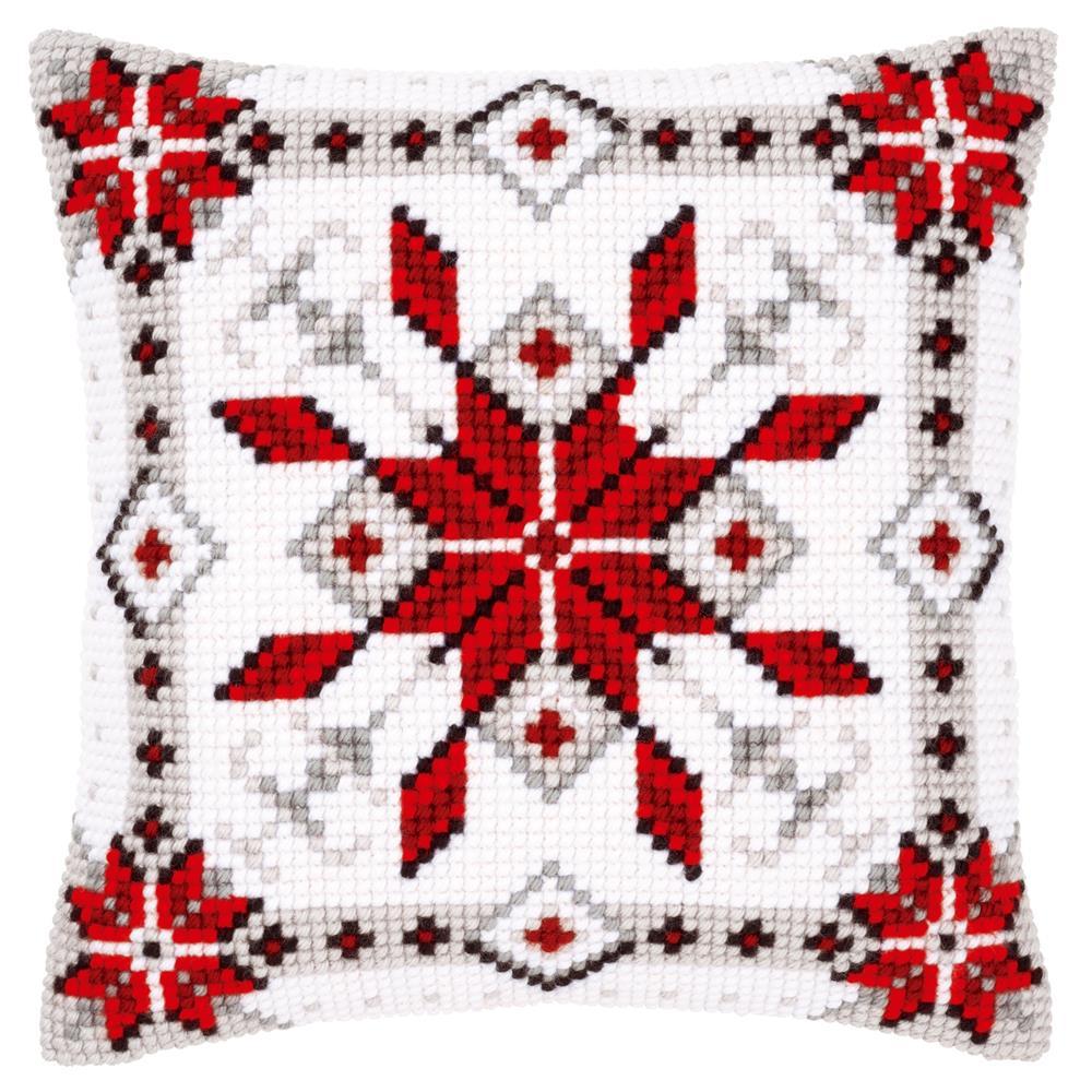 Набор для вышивания подушки крестом Vervaco