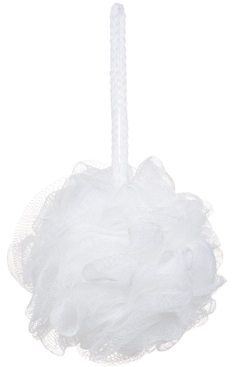 Riffi Мочалка-губка Массажный цветок, средняя, цвет: белый. 340340_белыйМочалка Riffi Массажный цветок не вызывает аллергии, обладает хорошими моющими и пилинговыми свойствами. Она дает много пены при малом количестве мыла или моющего геля. Для удобства применения снабжена веревочной петлей. Товар сертифицирован.