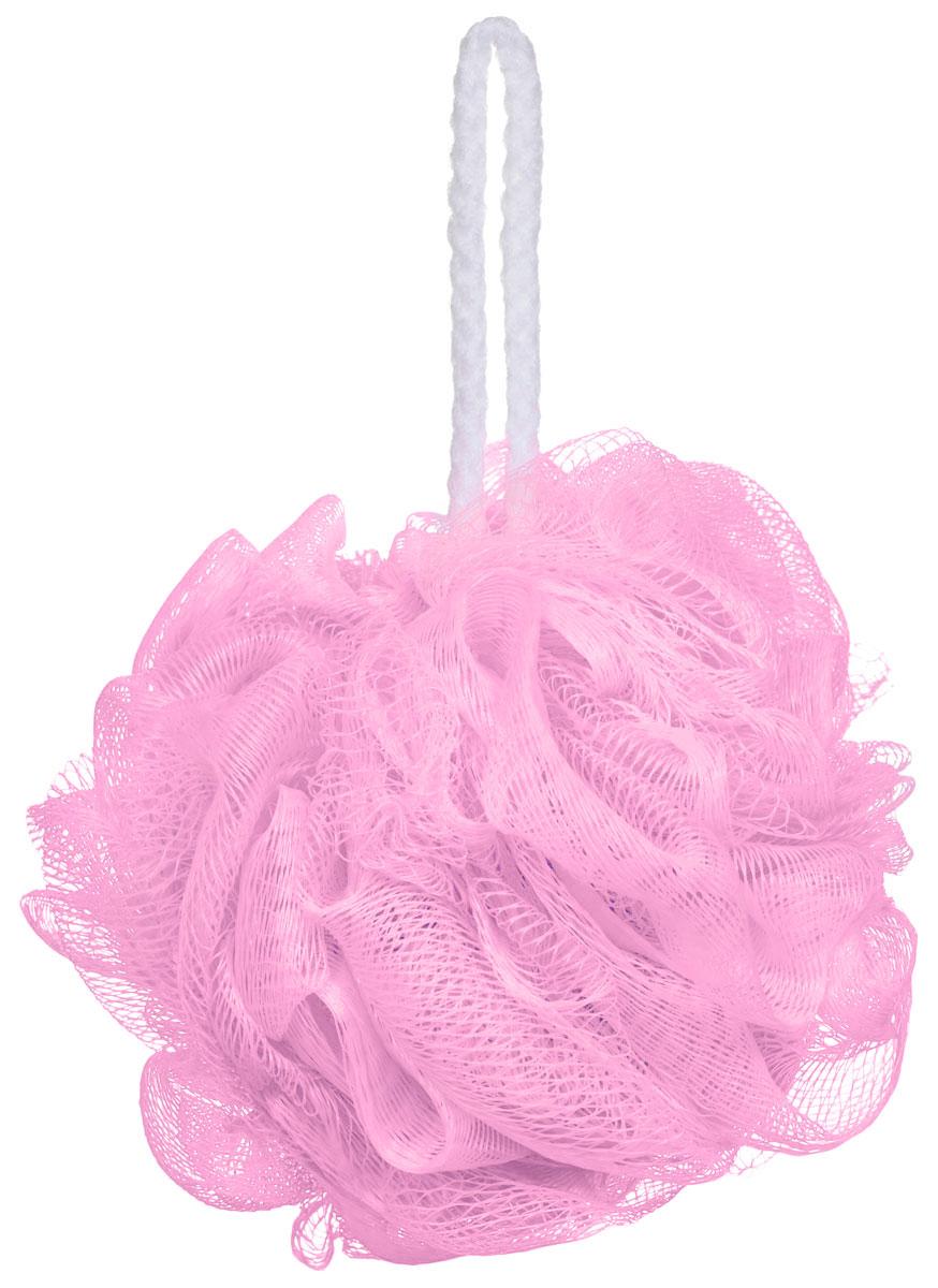 Riffi Мочалка-губка Массажный цветок, средняя, цвет: розовый. 340340_розовыйМочалка Riffi Массажный цветок не вызывает аллергии, обладает хорошими моющими и пилинговыми свойствами. Она дает много пены при малом количестве мыла или моющего геля. Для удобства применения снабжена веревочной петлей. Товар сертифицирован.