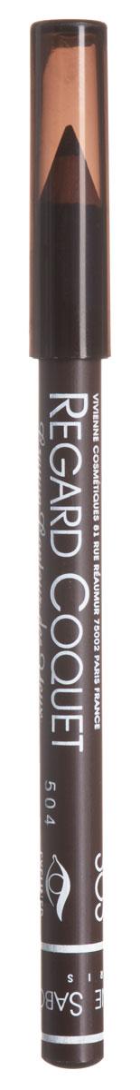 Vivienne Sabo Карандаш для глаз Regard Сoquet, тон № 303, 0,9 гD215229303Мягкая, скользящая, матовая текстура карандаша от Vivienne Sabo Regard Сoquet создаст идеальную тонкую линию и придаст взгляду особую выразительность. Прекрасно растушевывается и создает глубокий цвет. Корпус - деревянный. Товар сертифицирован.