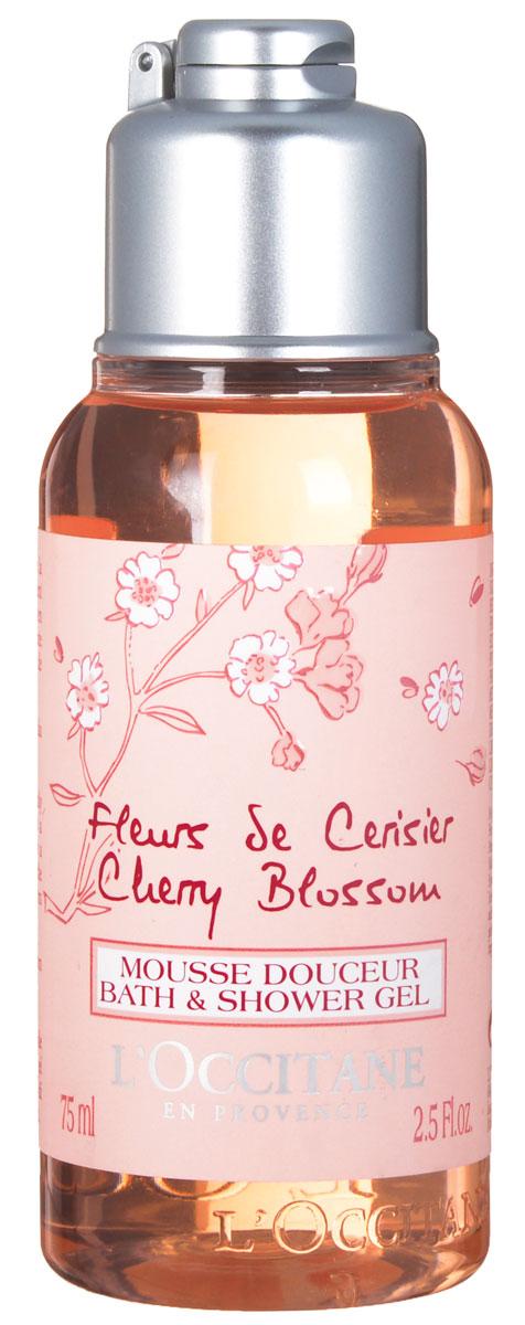LOccitane Гель для душа Вишневый цвет, 75 мл345177Гель для душа Вишневый цвет от LOccitane, обладающий удивительным цветочным ароматом, бережно очищает и смягчает кожу. При контакте с водой образует нежную пену, поэтому подходит для использования в качестве пены для ванн. Содержит экстракт вишни из Люберона. Товар сертифицирован.