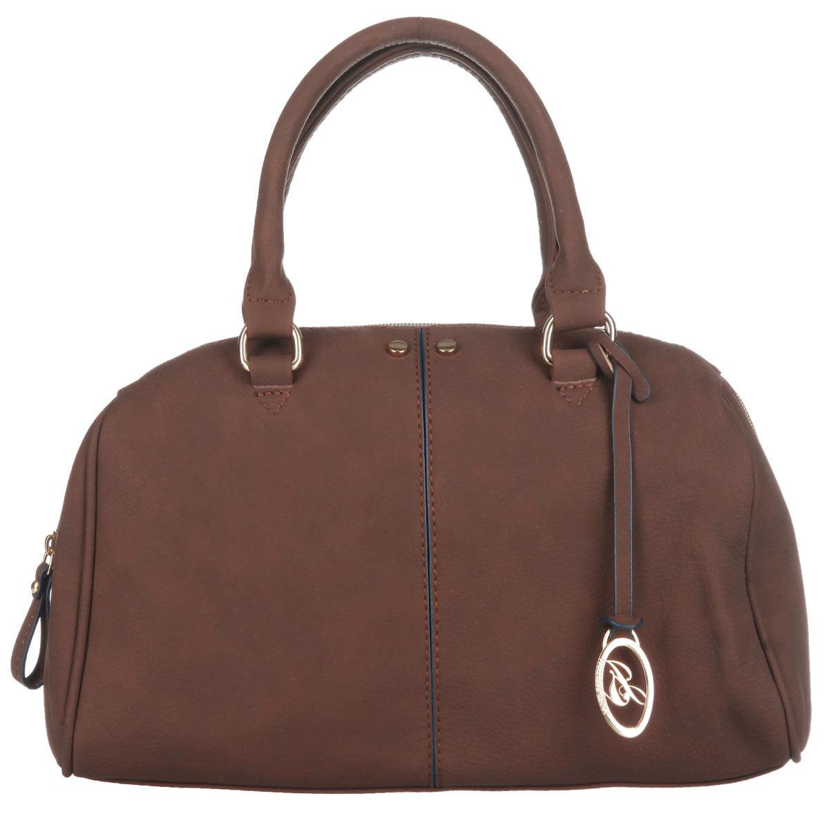Сумка женская Jane Shilton, цвет: светло-коричневый. 19341934lt_brСтильная сумка Jane Shilton выполнена из искусственной кожи с зернистой фактурой, оформлена металлической фурнитурой и подвеской с символикой бренда. Сумка содержит одно отделение, которое закрывается на застежку-молнию. Внутри изделия расположены: врезной карман на застежке-молнии и три накладных кармана, один из которых закрывается на кнопку, а другой на молнию. Снаружи, на задней стороне, размещен врезной карман на молнии. Изделие оснащено съемным плечевым ремнем и двумя практичными ручками, которые позволят носить сумку, как в руках, так и на плече. Оригинальный аксессуар позволит вам завершить образ и быть неотразимой.