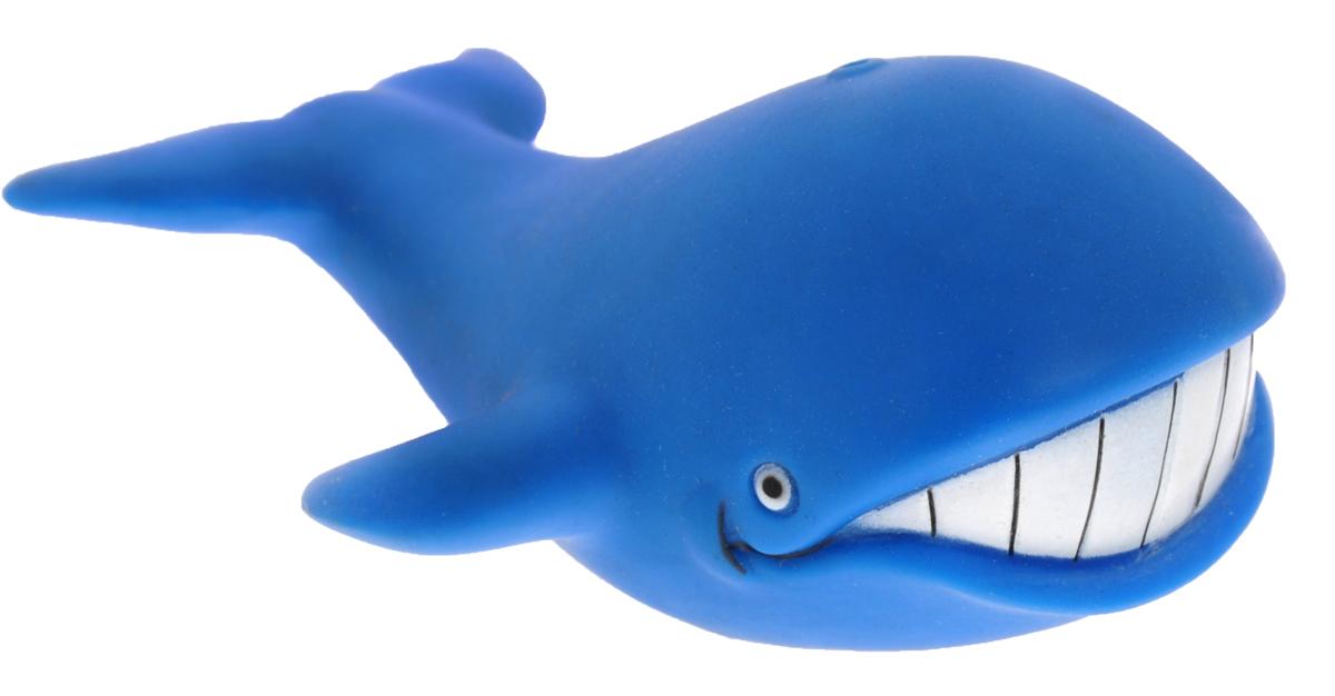Затейники Игрушка для ванной Водный мирGT2783Игрушка-пищалка для ванной Затейники Водный мир понравится вашему ребенку и развлечет его во время купания. Она выполнена из безопасного материала в виде забавного кита. Размер игрушки идеален для маленьких ручек малыша. Если сжать ее во время купания в ванне, игрушка начинает забавно брызгаться водой. Игрушка для ванны способствует развитию воображения, цветового восприятия, тактильных ощущений и мелкой моторики рук.