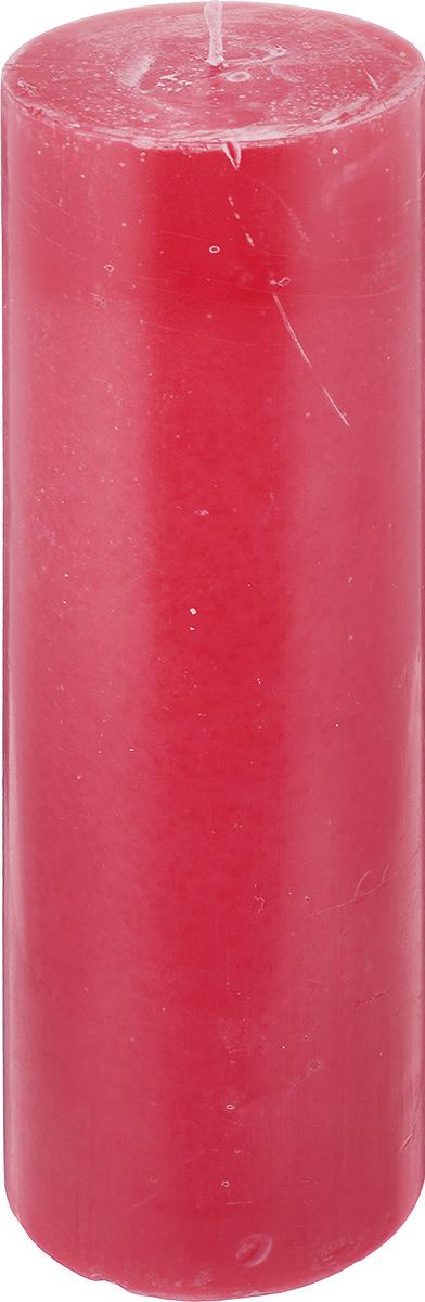 Свеча декоративная Proffi Столбик, цвет: красный, высота 23,5 смPH3424Свеча Proffi Столбик выполнена из парафина и стеарина в классическом стиле. Изделие порадует вас ярким дизайном. Такую свечу можно поставить в любое место, и она станет ярким украшением интерьера. Свеча Proffi Столбик создаст незабываемую атмосферу, будь то торжество, романтический вечер или будничный день.