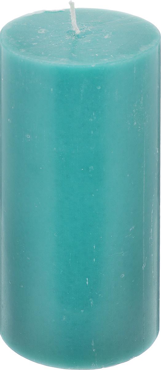 Свеча декоративная Proffi Home Столбик, цвет: зеленый, высота 15 смPH3447Декоративная свеча Proffi Home Столбик выполнена из парафина и стеарина в классическом стиле. Изделие порадует вас ярким дизайном. Такую свечу можно поставить в любое место, и она станет ярким украшением интерьера. Свеча Proffi Home создаст незабываемую атмосферу, будь то торжество, романтический вечер или будничный день.