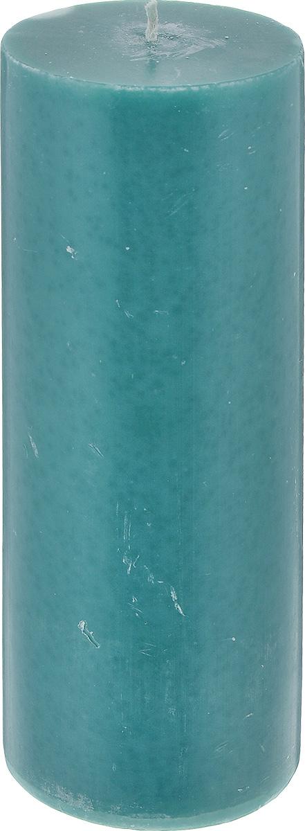 Свеча декоративная Proffi Home Столбик, цвет: зеленый, высота 20 смPH3437Декоративная свеча Proffi Home Столбик выполнена из парафина и стеарина в классическом стиле. Изделие порадует вас ярким дизайном. Такую свечу можно поставить в любое место, и она станет ярким украшением интерьера. Свеча Proffi Home создаст незабываемую атмосферу, будь то торжество, романтический вечер или будничный день.