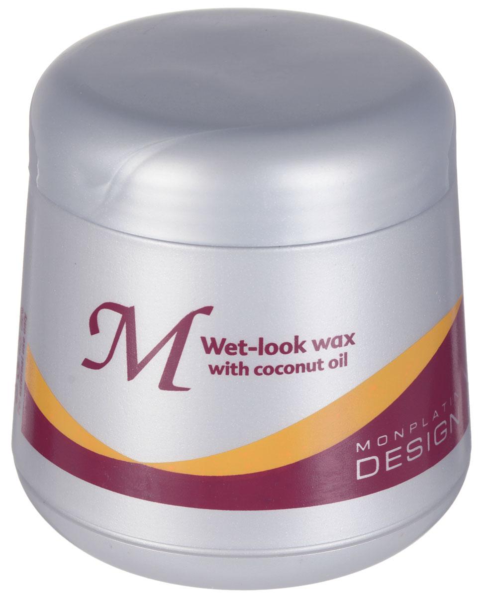 Mon Platin Professional Вакс на основе кокосового масла - для придания влажного вида волосам 150млMP23Воск с кокосовым маслом и витамином E придает волосам влажный вид, блеск, смягчает их и фиксирует прическу. Подходит для всех видов волос, включая вьющиеся.