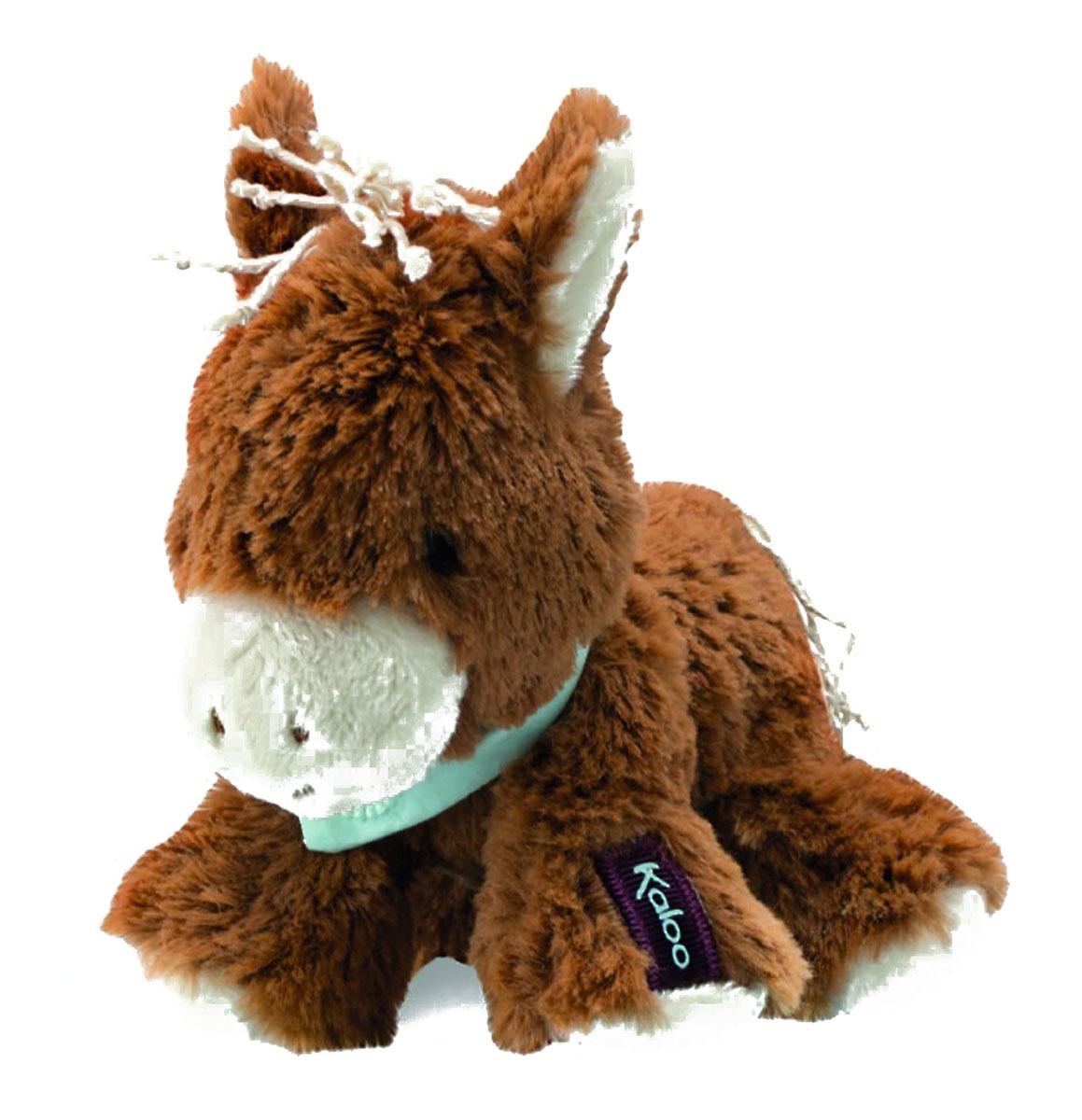 Kaloo Мягкая игрушка Лошадка 14 смK963144Очаровательная мягкая лошадка от французского производителя высококачественных игрушек для детей Kaloo на долгие годы станет одной из самых любимых игрушек вашего малыша. Лошадка выполнена в коричневом цвете. На шее у лошадки повязан бирюзовый платочек. Игрушка выполнена из качественных, безопасных для здоровья детей материалов, которые не вызывают аллергии, приятны на ощупь и доставляют большое удовольствие во время игр. Игрушку приятно держать в руках, прижимать к себе и придумывать разнообразные игры. Игры с мягкими игрушками развивают тактильную чувствительность и сенсорное восприятие.
