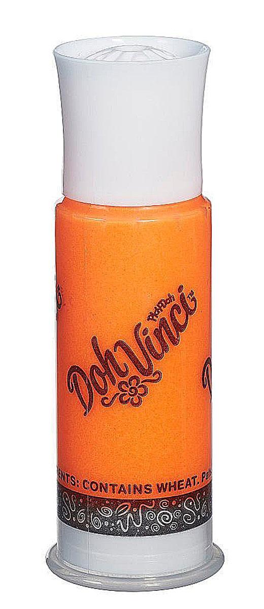 DohVinci Одиночный картридж для декорирования цвет оранжевыйB3461_оранжевыйDohVinchi Одиночный картридж с моделирующей пластилиновой смесью оранжевого цвета. Яркий цвет пластилина DohVinchi прекрасно смотрится в поделках и добавляет им солнечной лучистости и выразительности. Картридж предназначен для специального маркера, позволяющего наносить смесь тонкой линией на объект декорирования. Регулируя силу нажима, можно создавать различные узоры и варьировать толщину линий. Совершенно безопасный для детей пластилин высокого качества очень хорошо держит форму и достаточно быстро высыхает, после чего с поделкой можно играть или использовать ее в декоративных целях. Масса смеси: 14 г.