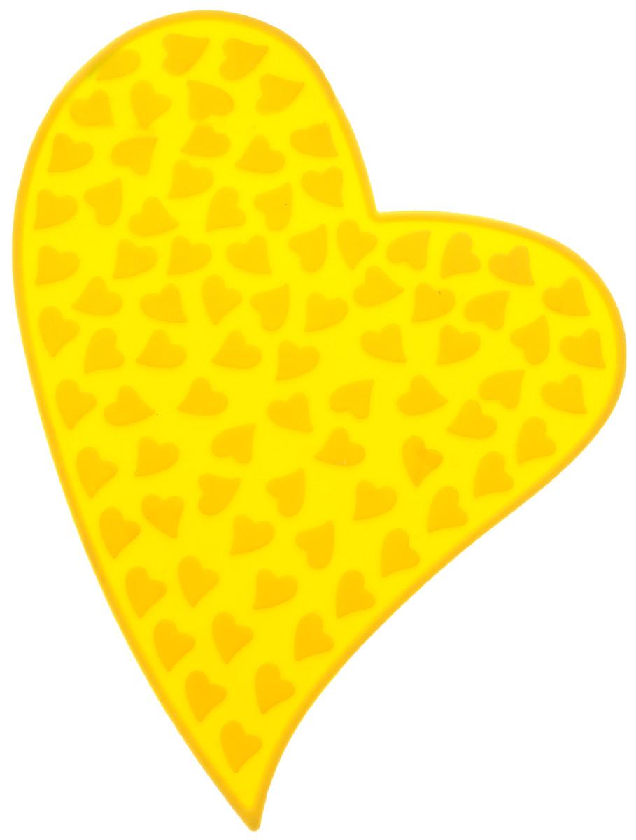 Подставка под горячее Mayer & Boch Листок, цвет: желтый, 20,5 см х 25,5 см20032Подставка под горячее Mayer & Boch Листок изготовлена из силикона, что позволяет ей выдерживать высокие температуры и не царапать поверхность стола. Материал устойчив к фруктовым кислотам, к воздействию низких и высоких температур. Не взаимодействует с продуктами питания и не впитывает их запахи как при нагревании, так и при заморозке. Такая подставка придется по вкусу человеку, ценящему практичные и оригинальные вещицы.
