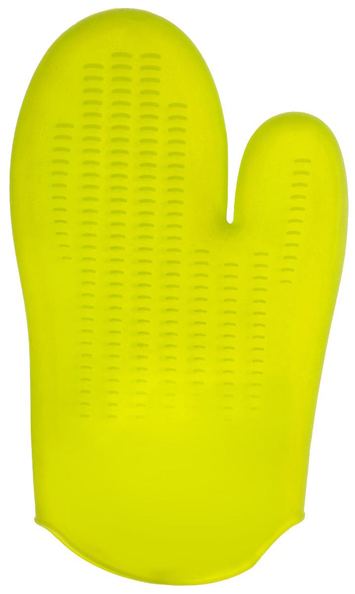 """Прихватка-варежка силиконовая """"Mayer & Boch"""", цвет: салатовый, 26,5 см х 16,5 см"""