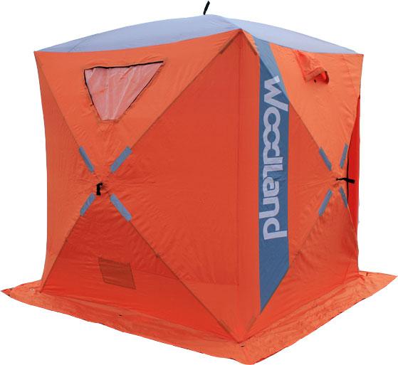 Палатка зимняя WOODLAND ICE FISH 2, цвет: оранжевый.4893348933Размер: 165 X 165 X 185 см Материал: Oxford 420D PU 5000 мм Прозрачное полиуретановое покрытие. Каркас: Fiberglass, o 9,5 мм Окна: 2 окна, материал TPR морозостойкий. Отстегиваются на липучке Вентиляция: 2 вентиляционных окна Светоотражающие элементы: есть, с каждой стороны. Вход: один Юбка: 30 см, 4 люверса с усилением Ввертыши: 4 шт в чехле. Кармашки: 2 шт Вес: 7,35 кг Состав материала: Oxford 420D/Fiberglass