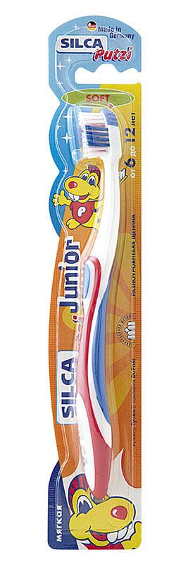 Silca Putzi Зубная щетка мягкая Junior от 6 до 12 лет