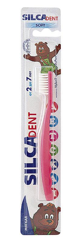 Silca Dent Зубная щетка детская от 2 до 7 лет, в ассортименте
