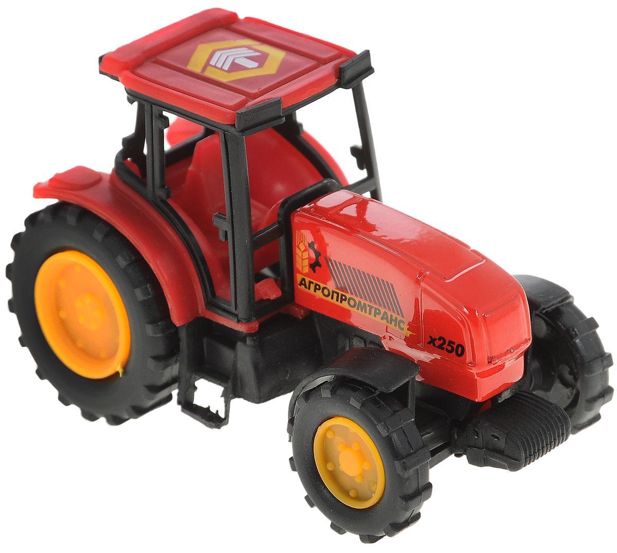 ТехноПарк Трактор Агропромтранс цвет красный ( 20119-R_красный )