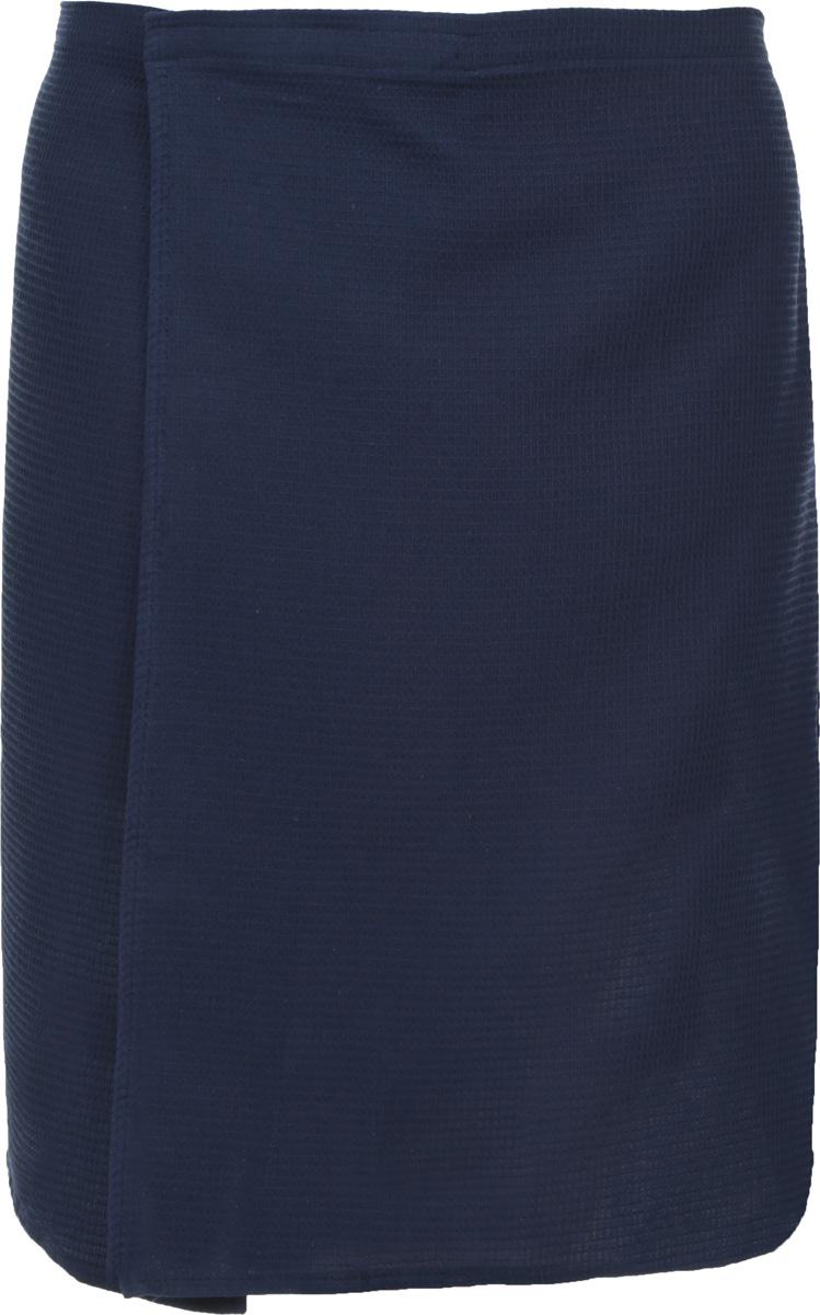 Килт для бани и сауны Банные штучки, мужской, цвет: синий32060_синийВафельный килт для бани и сауны Банные штучки, выполненный из натурального хлопка, привлечет внимание любителей модных тенденций в банной одежде. Килт - это многофункциональное полотенце специального покроя с резинкой и застежкой. В парилке можно лежать на нем, после душа вытираться, а во время отдыха использовать как удобную накидку. Длина килта: 60 см. Ширина килта: 145 см. Размер: 36-60.