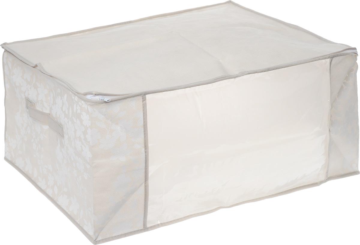 Чехол для хранения одеял Cosatto Спринг, цвет: бежевый, 60 х 45 х 30 смCOVLCATSP6_бежевыйСкладывающийся чехол Cosatto Спринг из дышащего нетканого волокна предназначен для хранения, транспортировки и переноски больших пуховых одеял. Имеет прозрачное окно и замок по периметру чехла, а также ручку для переноски. Материал можно протирать в случае загрязнения влажной салфеткой или тряпкой. Надежно защищает от пыли, моли, солнечных лучей и загрязнения. Нетканый материал чехла пропускает воздух, что позволяет изделиям дышать. Это особенно необходимо вещам из натуральных материалов. Благодаря такому чехлу вещи не впитывают посторонние запахи.