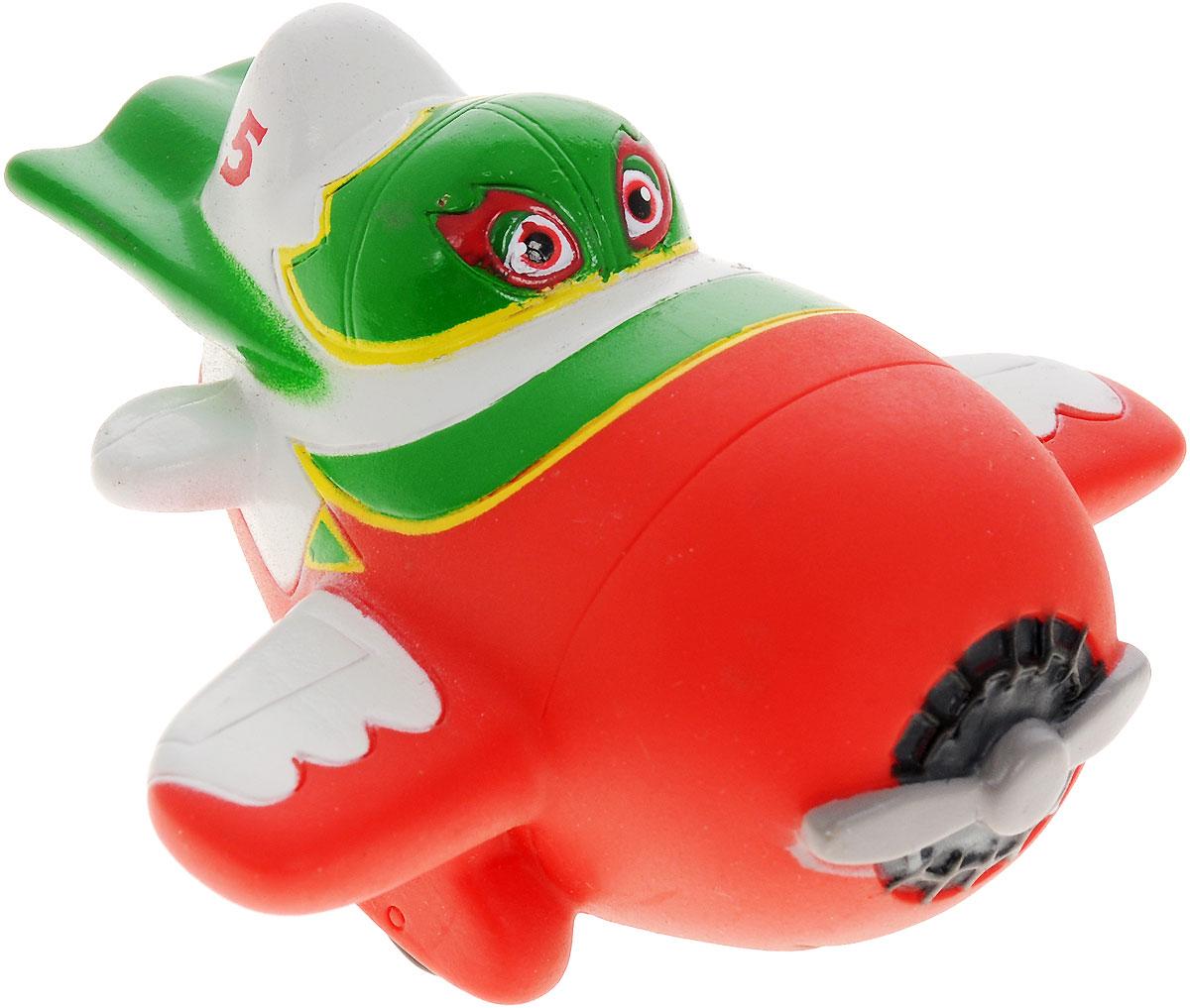 Самолеты Игрушка для ванны Эль ЧупакабраGT7808_зеленыйИгрушка для ванны Самолеты Эль Чупакабра станет замечательным подарком для вашего ребенка, особенно если он является поклонником популярного мультфильма Самолеты (Planes). Если нажать на нижнюю часть игрушки, Эль Чупакабра будет подсвечиваться. Игрушка порадует малыша и превратит купание в удовольствие, а игра с ним поможет развить мелкую моторику рук, воображение, цветовосприятие и концентрацию внимания. Порадуйте своего ребенка такой удивительной игрушкой!