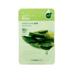 The Face Shop Тканевая маска для лица с алое REAL NATURE, 20гУТ000001552Тканевые маски на основе природных ингредиентов сравнимые по эффекту с сывороткой. Алоэ - хорошо успокаивает, увлажняет и смягчает кожу. Содержит витамины, которые защищают клетки от окисления. Обладает мощным противовоспалительным, антисептическим, антибактериальным и очищающим свойствами. Не только удерживает в коже влагу, но и помогает восстановить структуру клеток, вылечить различные раны и повреждения.