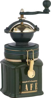 Кофемолка ручная Bekker BK-2521, цвет: зеленыйBK-2521_зеленыйКофемолка ручная BK-2521