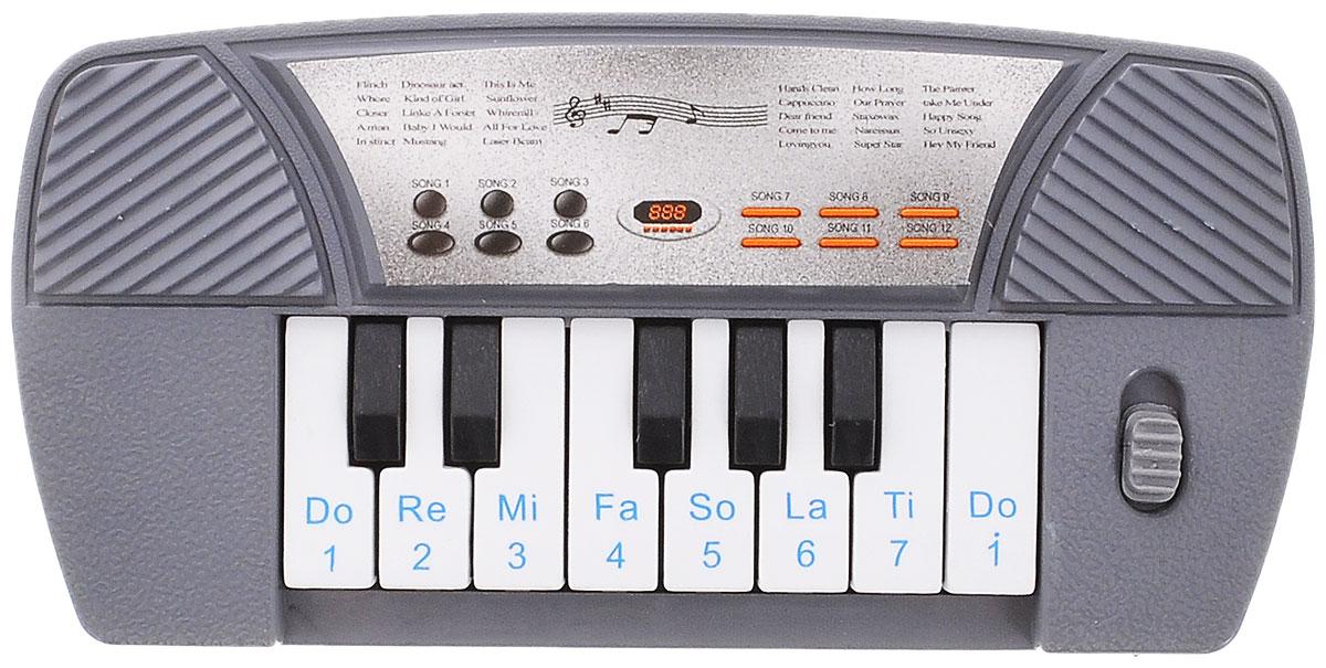 S+S Toys Музыкальная игрушка ПианиноBL648/BL648-1Музыка привлекает малышей с самого рождения. Это не удивительно, ведь она действительно окружает нас и сопровождает на протяжении всей жизни. Музыкальный слух малышам лучше прививать с детства и замечательное игрушечное пианино поможет вам в этом. Игра с пианино не только развивает у ребенка слух, но и улучшает мелкую моторику ручек, память и координацию. Питание: 2 батарейки типа АА (не входят в комплект).