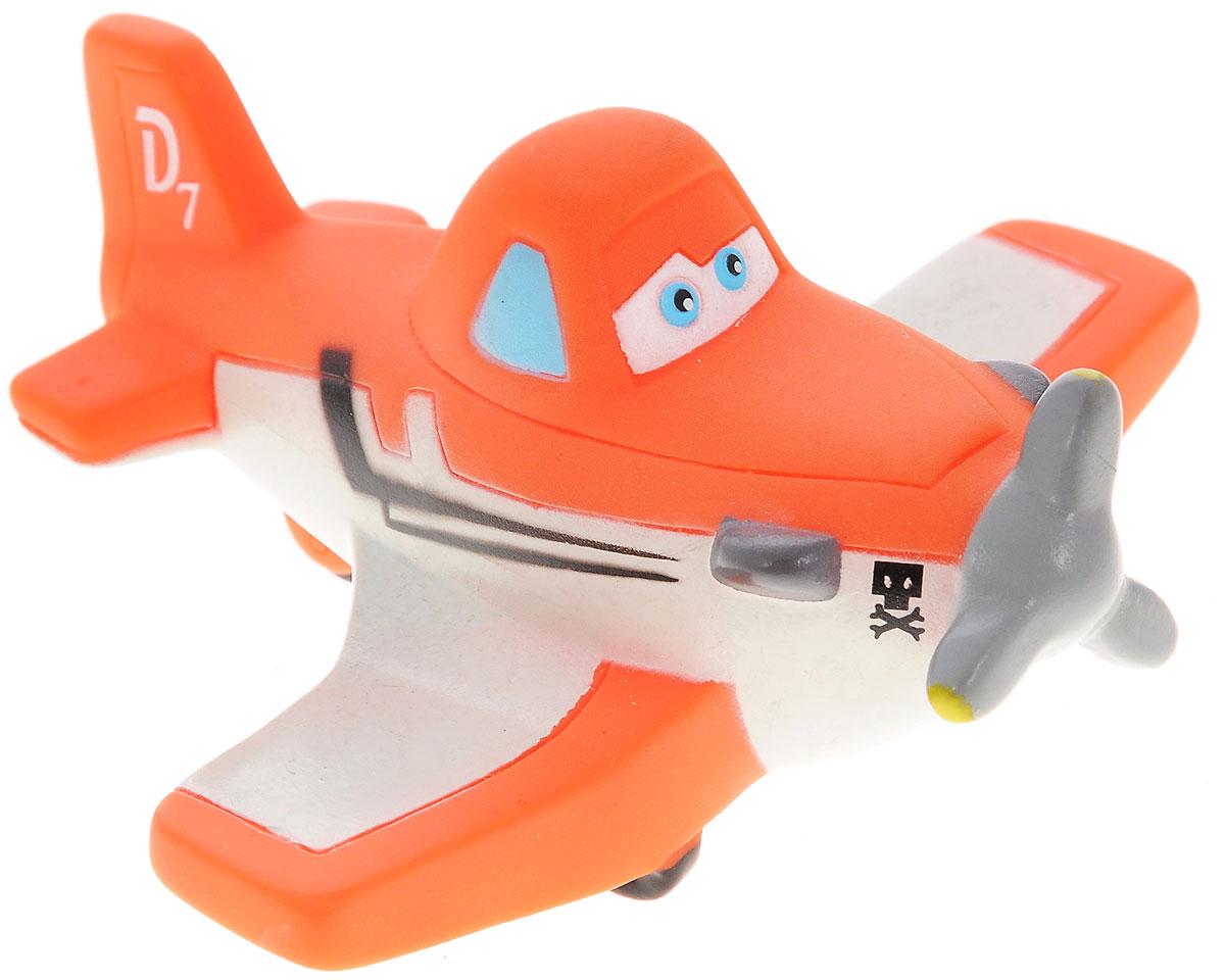 Disney Игрушка для ванны Самолет ДастиGT7939Игрушка для ванны Самолет Дасти превратит купание вашего малыша в интересную и веселую игру. Герой любимого мультфильма выполнен из высококачественного безопасного материала. С такой игрушкой вы вместе с вашим ребенком сможете придумать бессчетное количество веселых игр и историй. При сжатии игрушка забавно пищит, может набирать в себя воду. Игрушка способствует развитию внимательности, мелкой моторики рук, воображения, зрительного восприятия.
